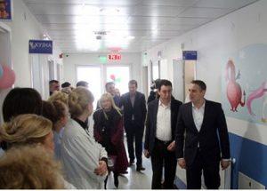 Министерот Никола Тодоров на 15 март го отвори центарот за цистична фиброза во Детската клиника во Скопје