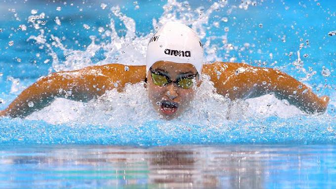 Мардини заврши на седмото место во нејзината квалификациска група на 100 метри слободно, но спортскиот резултат беше во втор план
