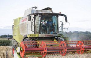 Прва работа на 33-годишникот е жнеење на пченицата, а потоа го чекаат јачменот, грашокот и компирите, како и кравите и кокошките