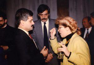 Расправа со претседателот на СКМ-ПДП Петар Гошев во присуство на директорот на МРТВ Слободан Трајковски во Собранието на Македонија