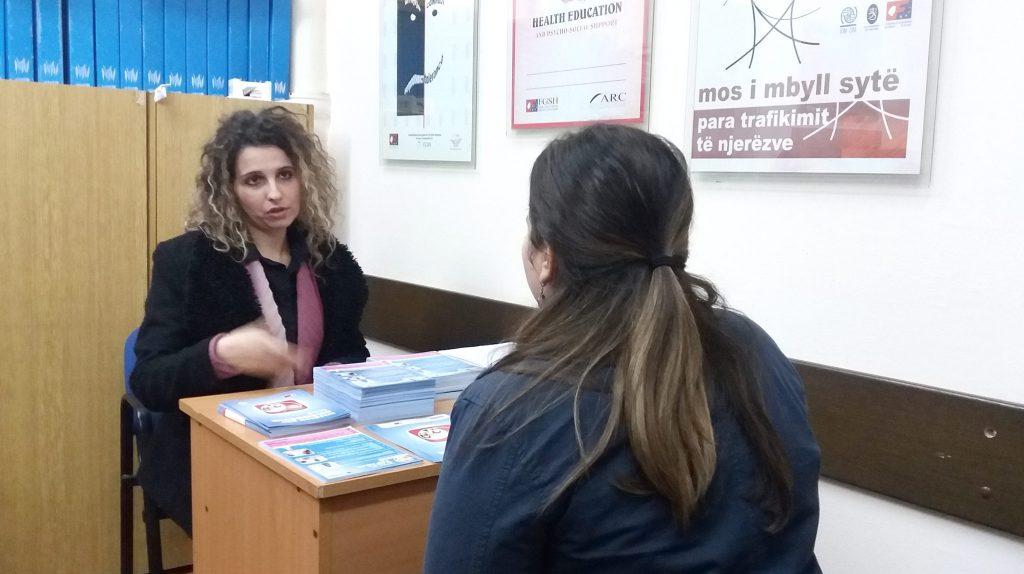 Слаѓана Јосифоска, координатор во Центарот за бесплатна правна помош во Тетово (Фото: СДК. МК)