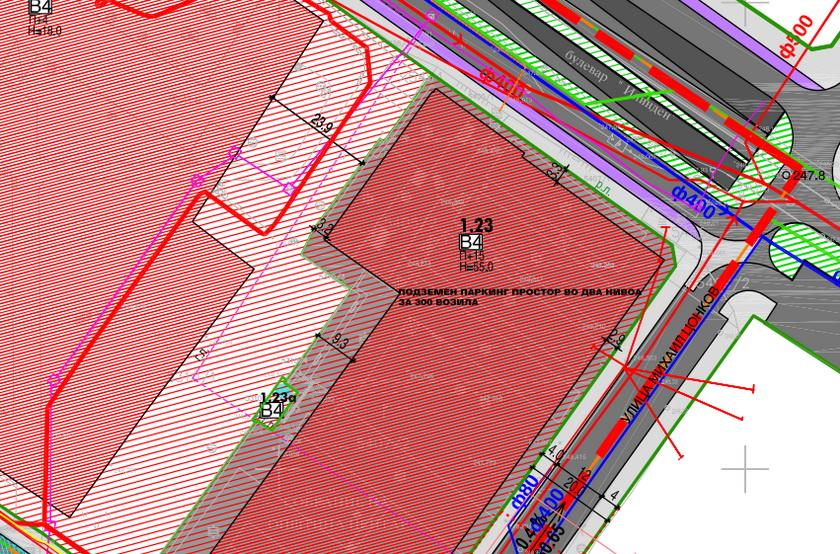 Според новиот ДУП, постојните бараки на Општина Центар се можна локација за изградба на старата Учителска школа