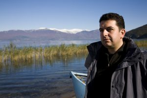 Димитар Сековски, раководител на Програмата за заштита на Преспанското Езеро (Фото: СДК.МК)