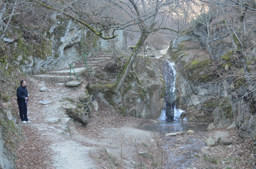 Водопад на трим патеката (Фото: СДК.МК)
