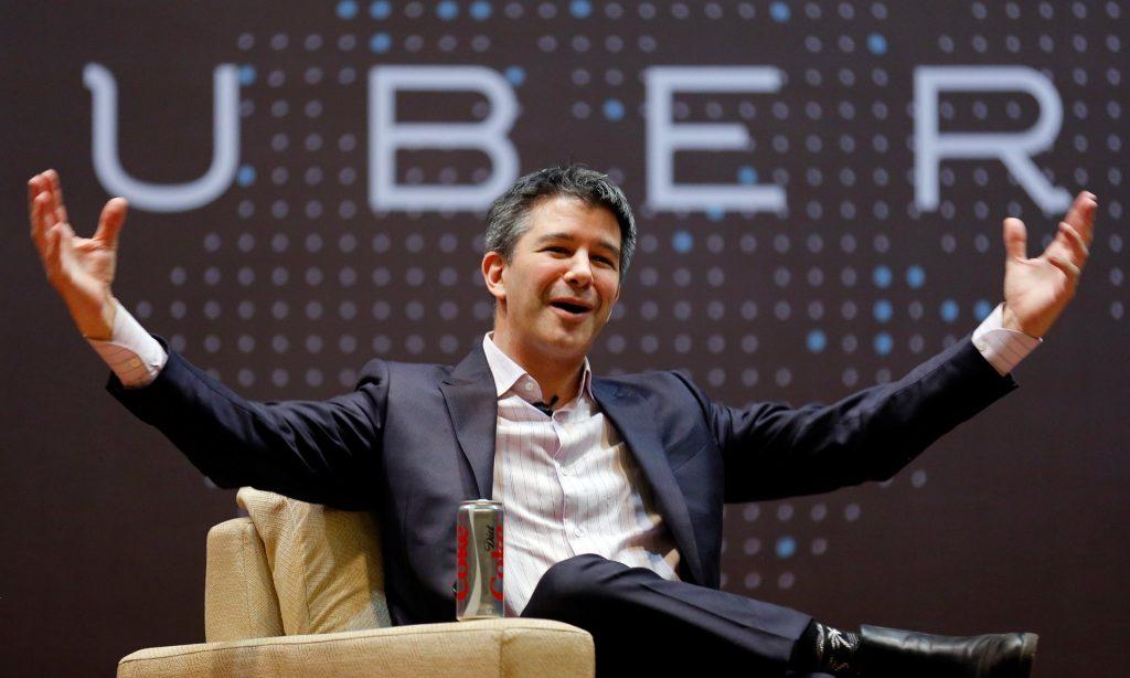 """Директорот на такси превозната компанија """"Убер"""" Тревис Каланик си даде оставка од членството во економскиот совет на Трамп, откако изминатава недела имаше масовни критики и онлајн бојкот на неговите возила поради врските со новата власт"""
