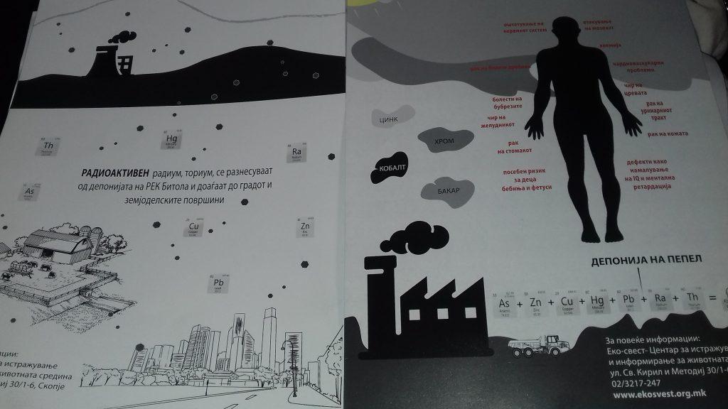 Од презентацијата на студијата за загадувањето од РЕК во Битола (Фото: СДК.МК)