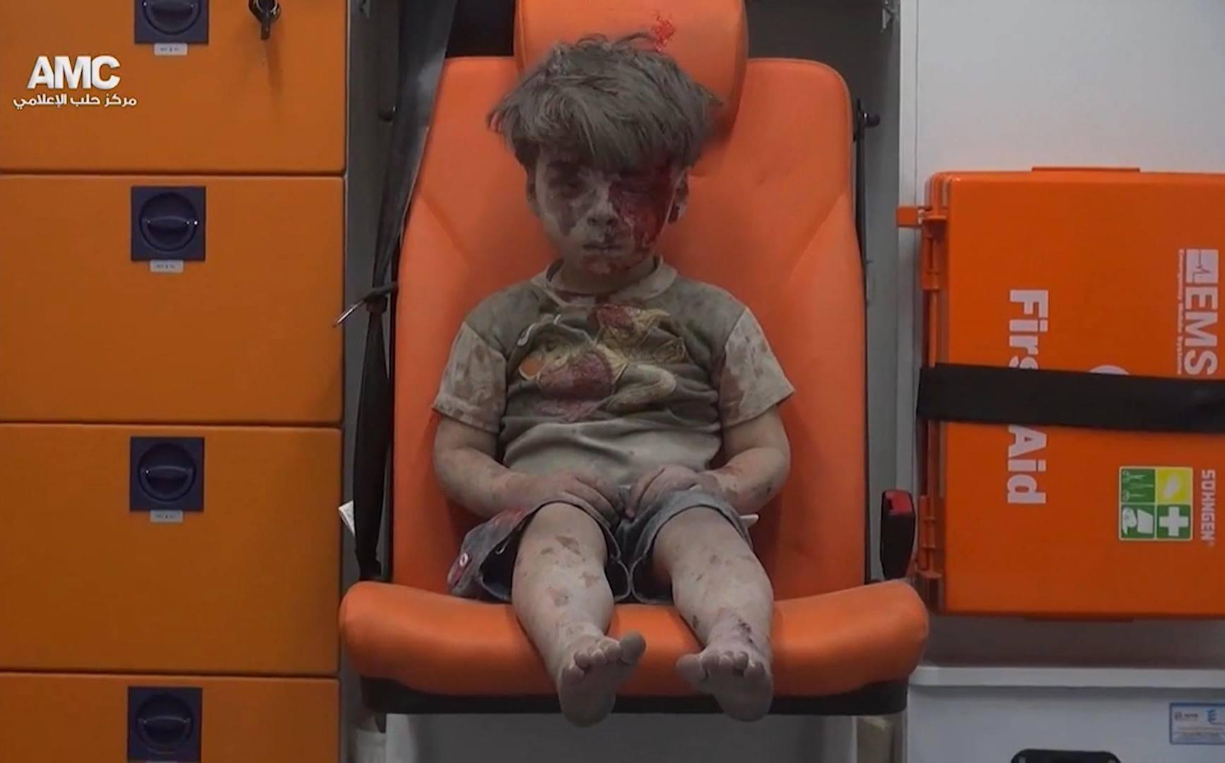 ПЕТГОДИШНИОТ ОМРАН Е ЛИЦЕ НА УЖАСОТ ВО СИРИЈА