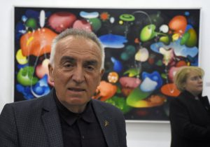 """""""Тој беше против ставот дека Париз или Лондон треба да се донесат во Македонија, тој велеше, Македонија да ја однесеме во светот. Тој тоа го постигна, и мислам пред смртта беше свесен за тоа свое достигнување"""", вели синот Рубенс Наумовски (Фото: СДК.МК)"""