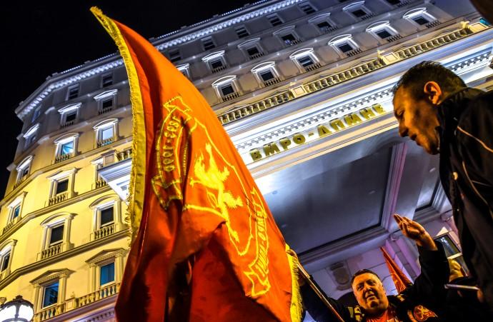 БЕЛИОТ ДВОРЕЦ НА ВМРО-ДПМНЕСТАНУВА ДИВОГРАДБА ОТИ ЦЕНТАР ГО ПОНИШТИ ПЛАНОТ