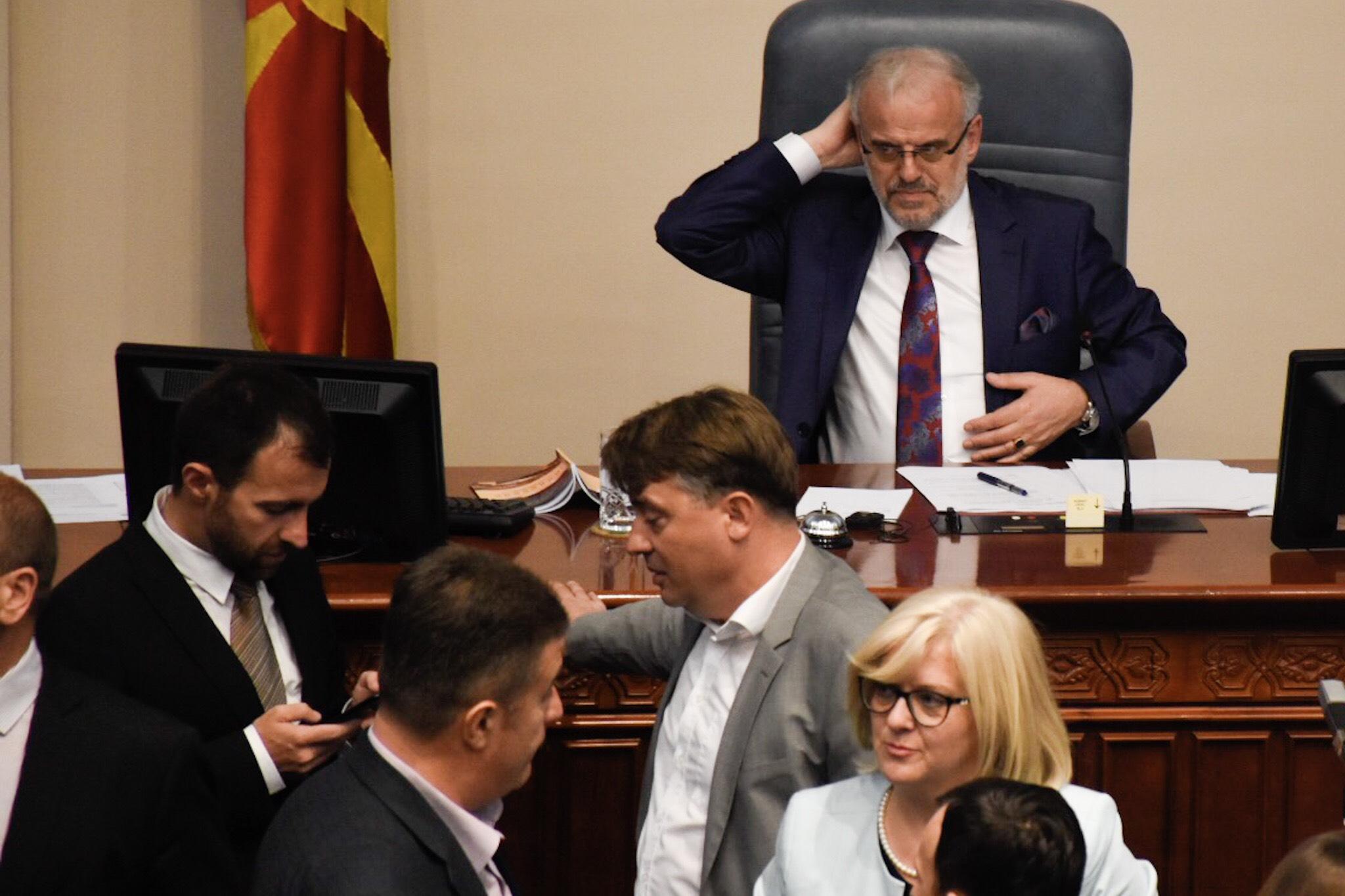 ВМРО-ДПМНЕ ЌЕ СЕ НАДМУДРУВА СО ЏАФЕРИ И ЗА ВЕРИФИКАЦИЈА НА МАНДАТИТЕ НА НОВИТЕ ПРАТЕНИЦИ