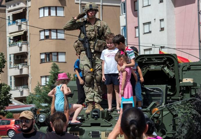 САД РАБОТИ ДА ЈА ВИДИ МАКЕДОНИЈА КАКО ДЕЛ ОД НАТО, РЕЧЕ БЕЈЛИ ОД КУМАНОВО
